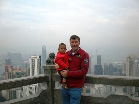 Amani & I in HK