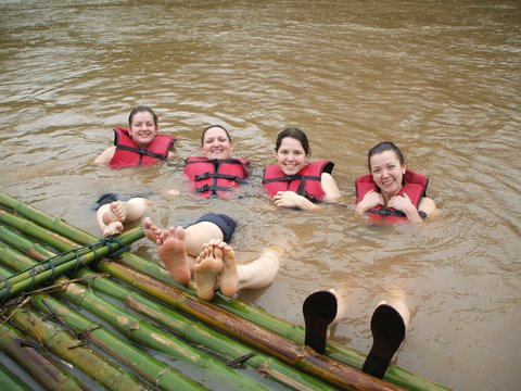 Rafting on the River Kwai