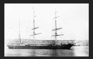1870's Barque similar to the Eduard (Kakoschke Australia)