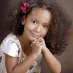 Malaika on her 4th birthday