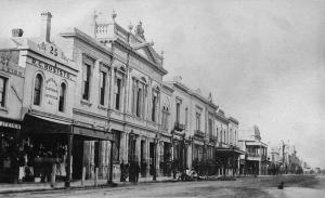 Hindley St c1878 (Kakoschke Australia)