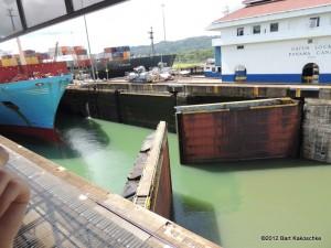 Panama Canal (Caribbean Cruise 2012)