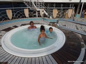 One of the Jacuzzis on board (Caribbean Cruise 2012)